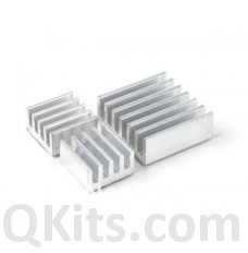 3PCS Raspberry Pi Aluminum HeatSink Set image