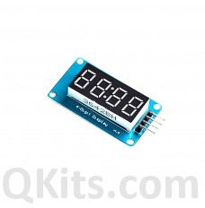4 Bits TM1637 LED Display Module and Clock with Colon
