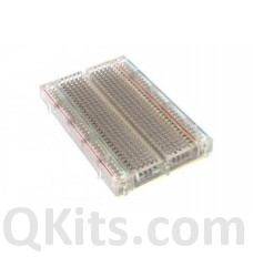 400 Point Transparent BreadBoard image