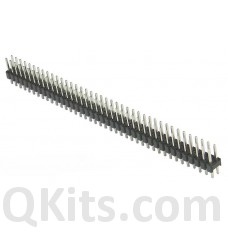 Double Row Male Pin Header 40 pins