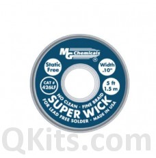 Lead Free Super Wick 5' BLUE image