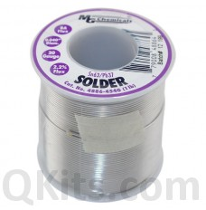 "Leaded Solder Sn63 / Pb37 1 lb 0.04"" Dia"