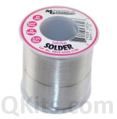 "Leaded Solder Sn60 / Pb40 1 lb 0.032"" Dia"