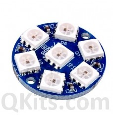 7 LED ring WS2812