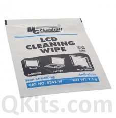 Individual LCD Cleaning Wipe