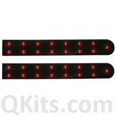 Double Self-Adhesive LED Strip - RED - 5 29/32 inch- 12VDC image