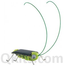 Solar Powered Hopping Grasshopper Kit image
