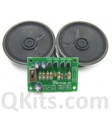 Dual Station Intercom Kit (transistor) image