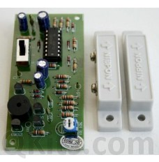 Magnetic Switch Burglar Alarm Kit (with Sensors) image