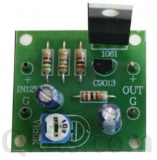 DC Regulator Kit 0 - 12V 500mA image