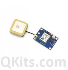 GPS Receiver with Serial Output uses NEO-6M