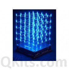 3D LED Cube Kit 5 x 5 x 5 BLUE image