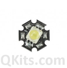 High Power LED - 3W - Pure White - 170lm image
