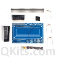 RGB LCD Shield Kit w/ 16x2 Character Display - Negative Display image