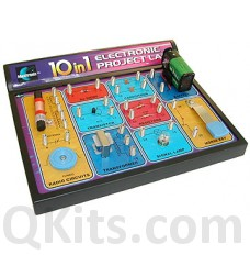 10 in 1 Electronic Lab kit image