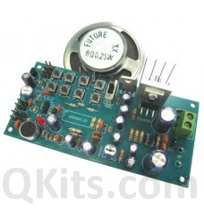 Voice Recorder with 8W Amp (680 Sec.) image