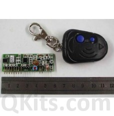 2 Button UHF Keychain Transmitter and Reciever. image