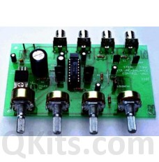 Stereo Pre-amplifier & tone control kit image