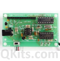 Ultrasonic Wind Speed Meter Kit image