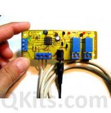 2 Channel serial Relay I/O card image