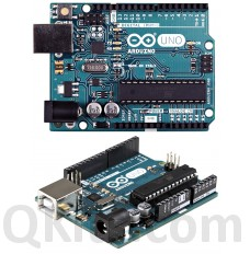 Arduino Uno Rev3 with Stackable Pin Headers