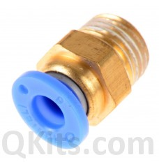 Pneumatic coupler 6mm 1/8th of an inch