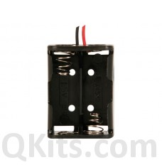 2 x N-Cell Battery holder with wire leads