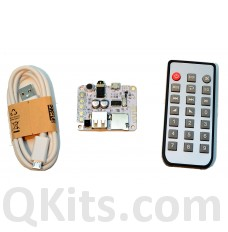 Bluetooth 2.1 audio receiver player board