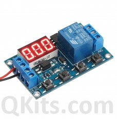 1 Channel Delay Power-Off Relay Module with Cycle Timing Circuit Switch