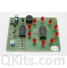 10 LED Electronic Roulette Kit