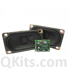 SMD 3+3W Class D Stereo Amplifier with speaker