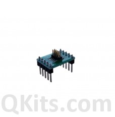 Half-pitch IDC Ribbon Cable-to-breadboard adapter, 10-pin