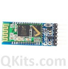 HC-05 bluetooth wireless module top view