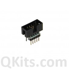 IDC ribbon cable to breadboard adapter 10 pin