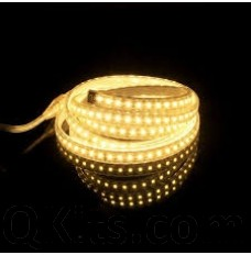 Warm White LED Strip 5 Meters Waterproof
