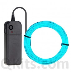 Electroluminescent Wire Light BLUE