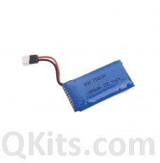 LiPo Rechargeable Battery 38-0mAh 3.7V