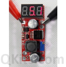 LM2596S regulator with LED volt meter