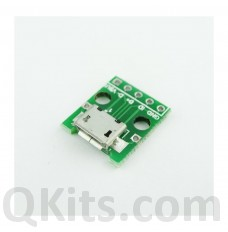 Micro USB Breakout Board for Arduino