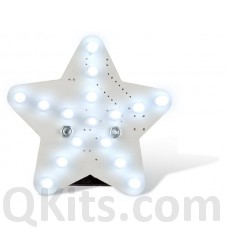 Glowing White LED Star Kit MK199W