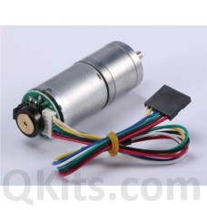 12 volt DC motor with shaft encoder image