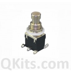 2PDT ON-ON Stomp Switch PSB-42-202