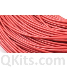 Red Silicone Wire 24 AWG