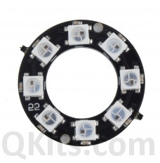 8 LED ring WS2812