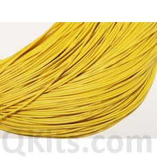 Yellow Silicone Wire 22 AWG