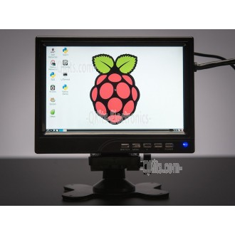 "7"" Raspberry Pi Display with Speakers"