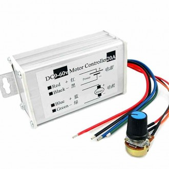 20 amp DC PWM motor speed control
