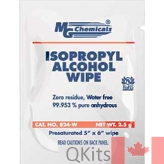 Alcohol Cleaning Wipes 25 pack 99.9% pure isopropyl