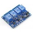 4 Channel Optically Isolated Relay Card 5VDC