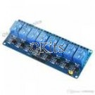 8 Channel Relay Card 5VDC (Assembled)